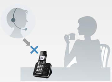 تلفن پاناسونیک مدل KX-TGD320