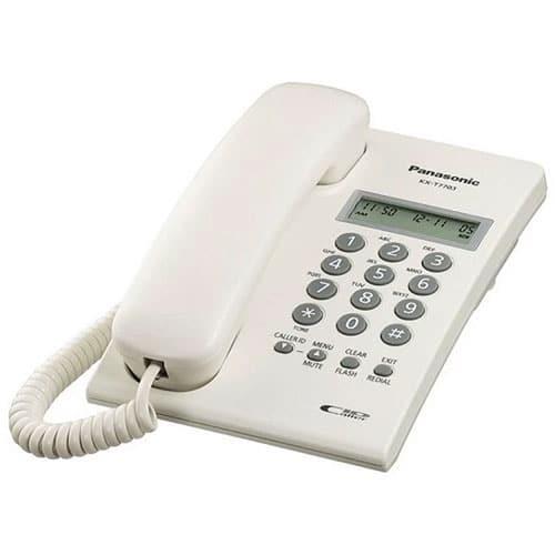 گوشی تلفن با سیم پاناسونیک مدل KX-TT7703X