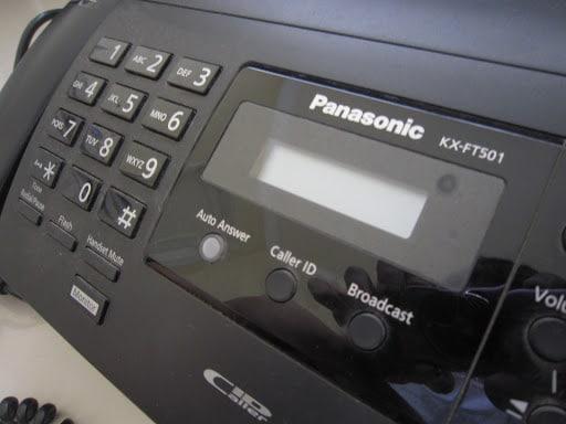 دستگاه فکس حرارتی پاناسونیک مدل KX-FT501