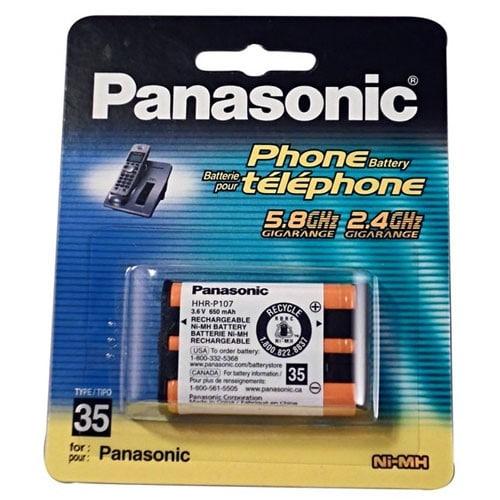 نقد و بررسی باتری تلفن بی سیم پاناسونیک مدل P107