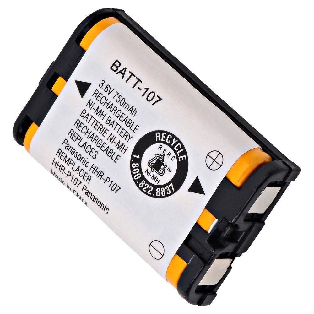 باتری تلفن بی سیم پاناسونیک مدل P107