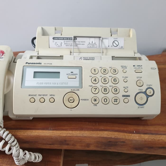 فکس مدل KX-FP206CX