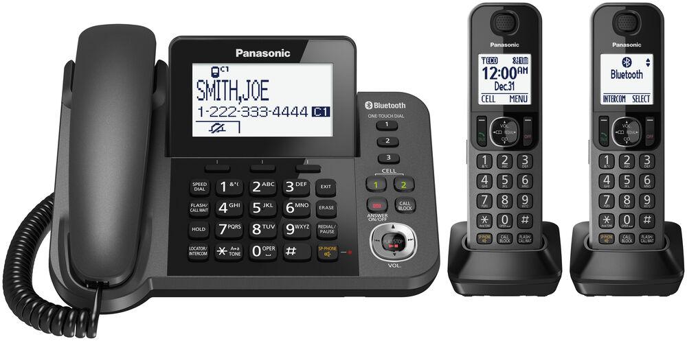 تلفن بی سیم پاناسونیک مدل KX-TGF382