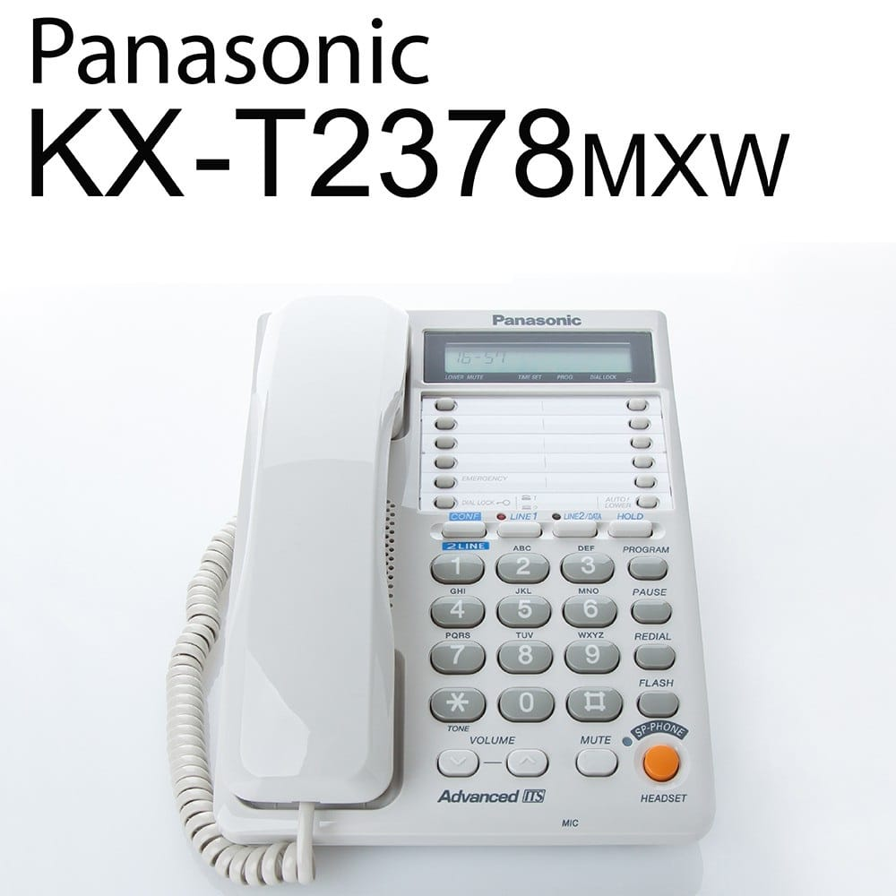تلفن با سیم پاناسونیک مدل KX-T2378MXW