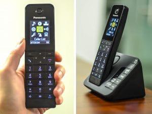 تلفن بی سیم پاناسونیک مدل KX-TGH220
